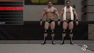 getlinkyoutube.com-WWE 2K16 How To Create Alberto Del Rio Tutorial