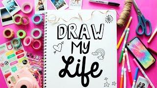 getlinkyoutube.com-DRAW MY LIFE | LaurDIY