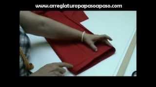 getlinkyoutube.com-Estrechar la pierna a un pantalón de vestir