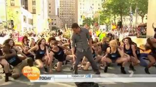 getlinkyoutube.com-Magic Mike Flashmob featuring Channing Tatum and PMG!! (The Today Show) from The Morning show