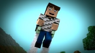 getlinkyoutube.com-Minecraft JetPack Fail  ( Minecraft Animation ) | Best Minecraft Animation 2015 ( HD )