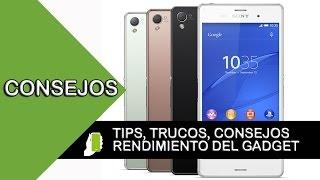 getlinkyoutube.com-Sony Xperia Z3  tips  y trucos para android (aumenta velocidad, rendimiento y batería)