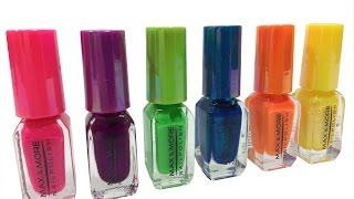 Glitter Nails DIY Learn Colors Finger Family Song