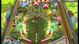 getlinkyoutube.com-Visual Pinball 10 - beta - test table 'papa smurf'