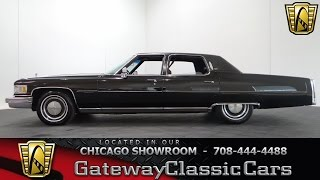 getlinkyoutube.com-1976 Cadillac Fleetwood Gateway Classic Cars Chicago #1009