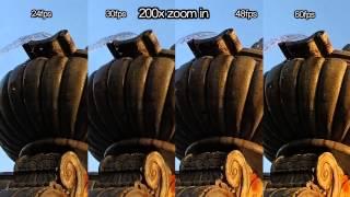 GoPro - 1080p 24-60 fps Sharpness Comparison - GoPro Tip #331