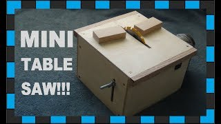 getlinkyoutube.com-How to make a mini table saw!!!