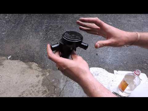 Как снять и почистить маслоотделитель на кайроне. Клапан вентиляции картера SsangYong Kyron