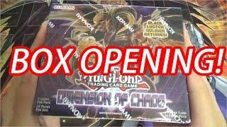 【遊戯王】 開封 / DIMENSION OF CHAOS Box Opening #1 (英語版ディメンション・オブ・カオス)
