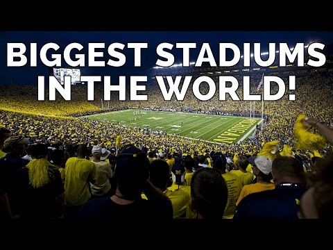 The 10 Biggest Stadiums in The World (2015) | Amazing Earth