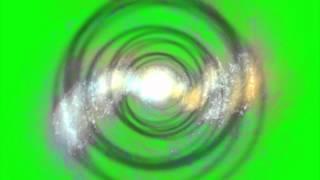 Plasma Tunnel - Green Screen (1080p)