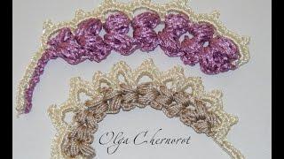 getlinkyoutube.com-Ирландские кружева Мотив колосок. Irlanskie lace motif spike