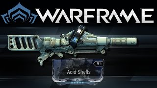getlinkyoutube.com-Warframe Acid Shells (Sobek Mod) | Mogamu