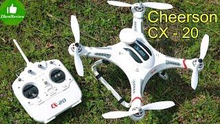getlinkyoutube.com-✔ Cheerson CX-20 - Дешевый Квадрокоптер для Gopro. Часть 1. Распаковка, сборка, калибровка. Gearbest