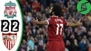 Liverpool vs Sevilla 2-2 UCL 2017/18 Partido 1