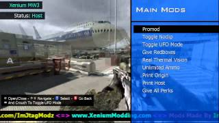 MW3 Xenium TU23 Mod Menu JTAG/RGH + Download