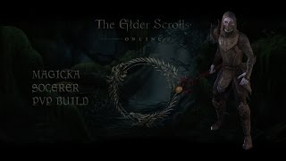 getlinkyoutube.com-ESO Darkbrotherhood Magicka Sorcerer PvP Build