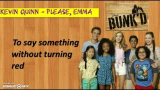 getlinkyoutube.com-Kevin Quinn - Please, Emma (from ''BUNK'D'') [Lyrics Video]