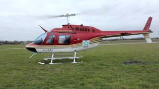 getlinkyoutube.com-Start-up Bell 206 JetRanger in Alençon