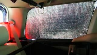ミニバン車中泊 快適空間