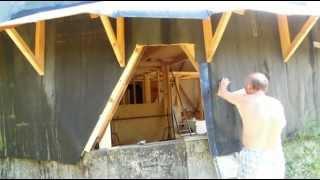 getlinkyoutube.com-Купольный дом своими руками. Часть 15