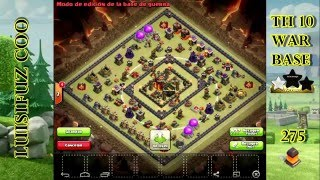 TH 10 WAR BASE 2016. ANTI 2 STAR.