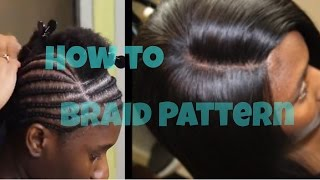 getlinkyoutube.com-Braid Pattern Tutorial for a Lace Closure Sew in : How to