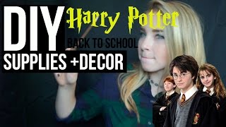 getlinkyoutube.com-DIY Harry Potter School Supplies + Decor (GIVEAWAY WINNER)