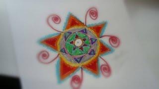 getlinkyoutube.com-كيفية رسم زخرفة نباتية #2   How to draw a Flower #2