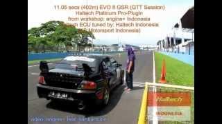 getlinkyoutube.com-Sentul Drag Race - Mitsubishi EVO 8 GSR & EVO 9 with Haltech Platinum Pro Plug-in