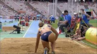 getlinkyoutube.com-Jessica Ennis Long Jump Heptathlon