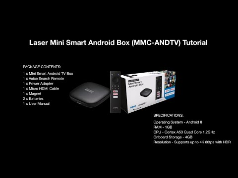 Laser Android TV Dongle