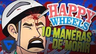 getlinkyoutube.com-HAPPY WHEELS: 10 MANERAS DE MORIR