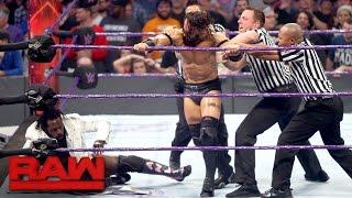 Neville ambushes Rich Swann: Raw, Jan. 16, 2017
