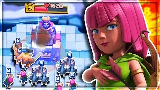 getlinkyoutube.com-HAVE YOU USED THIS UNBEATABLE DECK in Clash Royale!?