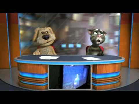 Talking Tom & Ben News episodio filme de porrada