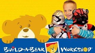 getlinkyoutube.com-David's First Build-a-Bear!