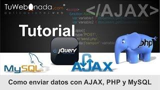 getlinkyoutube.com-Como enviar datos con AJAX, PHP, MySQL, jQuery y CSS