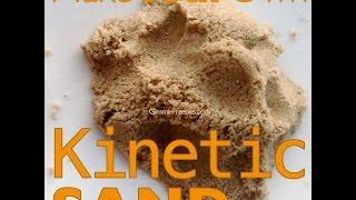 getlinkyoutube.com-Make Your Own Kinetic Sand (10 lbs for 50 cents!) Homemade Moon Sand