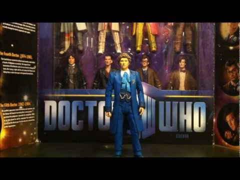 6th Doctor Action Figure