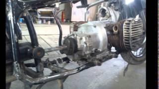 getlinkyoutube.com-(Урал,Днепр) К-750 Переделка под круйзер, ни одной запчасти от импортного мотоцикла!!!