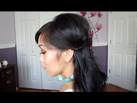 Spring Half Do Hair Tutorial - ItsJudyTime