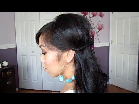 Spring Half Do Hair Tutorial - ItsJudyTime