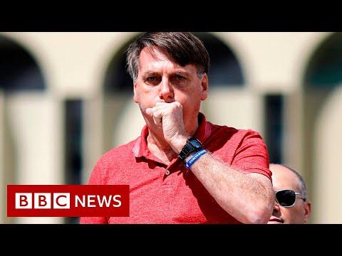BBC News:Coronavirus: Brazil's President Bolsonaro tests positive - BBC News