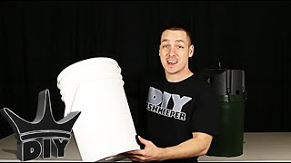 getlinkyoutube.com-HOW TO: Build an XL aquarium canister filter with a 5 gallon bucket - 1 of 2