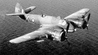 getlinkyoutube.com-Beaufighter attack on a German ship: WW2 pilot Steve Stevens DFC