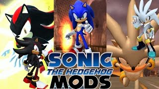 getlinkyoutube.com-Sonic Generations Mods Sonic 2006 character Sonic,Shadow,Silver