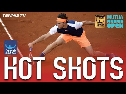 Hot Shot: Thiem Lands Gorgeous Volley In Madrid 2017 Final