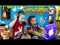 NIGHT OF JUMP SCARES!! Mike & Chase play GOOSEBUMPS N.O.S. iOS Game! FGTEEV Scariest Gameplay