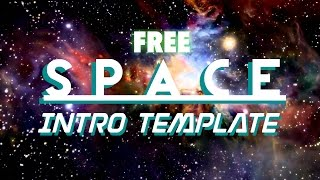 Space intro template NO TEXT